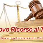 RICORSO INSERIMENTO IN GAE SCADENZA 8 LUGLIO INVIO DOMANDA.