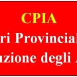FGU GILDA: CPIA, INCONTRO AL MIUR. RESOCONTO