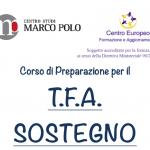 Corso di Preparazione T.F.A. Sostegno: Codice sconto di 50€