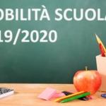MOBILITÀ SCUOLA a.s. 2019/2020: SCHEDA DI SINTESI del CCNI 2019/2022